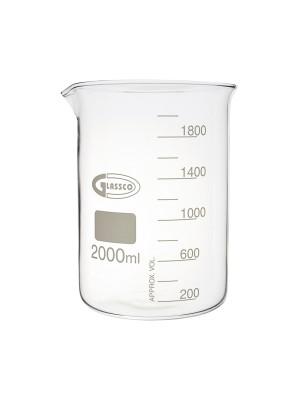 Cheminė stiklinė, žemos formos, Glassco