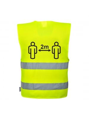 COVID-19 gero matomumo saugaus atstumo liemenė PORTWEST C406