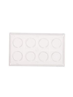 Kolorimetrinės lėkštelės (8 vietų)