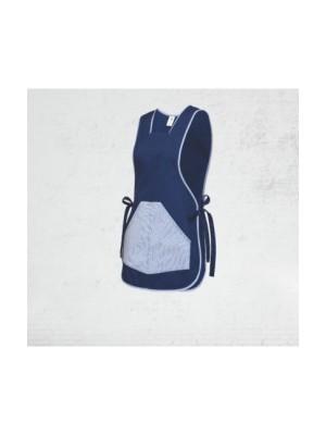 SARA SELENA (10-667) - Dvipusė prijuostė su kišenėmis