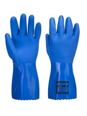 Ultra PVC pirštinės apsaugančios nuo cheminių medžiagų PORTWEST A881
