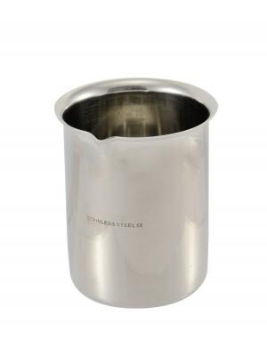 Cheminė stiklinė, nerūdijančio plieno