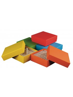 Kartoninė dėžutė 2 ml cryo mėgintuvėliams