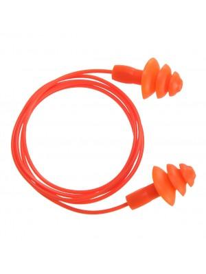 Daugkartinio naudojimo TPR ausų kamšteliai PORTWEST EP04