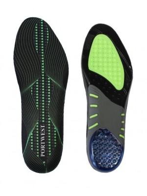 Pėdos linkį atitinkantys vidpadžiai su gelinėmis pagalvėlėmis PORTWEST FC82