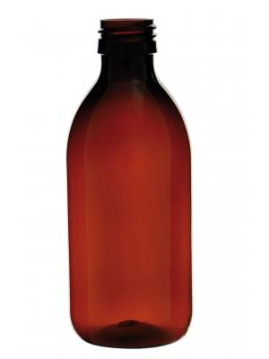 Gintaro spalvos PET butelis