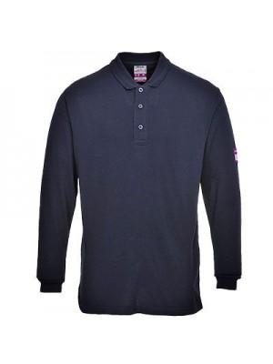 Ugniai atsparūs, anti-statiniai, Polo marškinėliai ilgomis rankovėmis. PORTWEST FR10