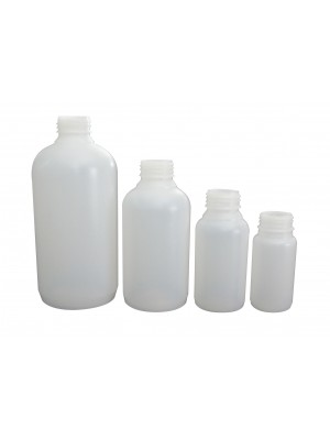 Plataus kaklelio butelis, HDPE
