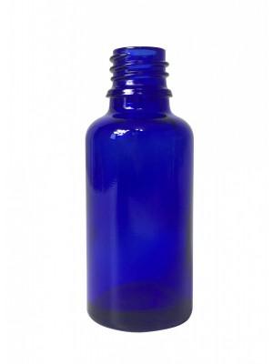 Mėlyno stiklo buteliukas, DIN-18