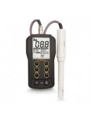 Nešiojamas vandeniui atsparus pH/EC/TDS/Temperatūros HI9813-6