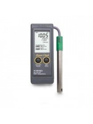 Nešiojamas pH/pH-mV/ORP/Temperatūros matuoklis HI991003