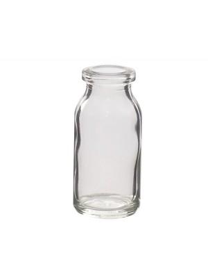 Bandinių buteliukas, skaidraus stiklo
