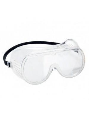 Tiesiogiai ventiliuojami apsauginiai akiniai PORTWEST PW20