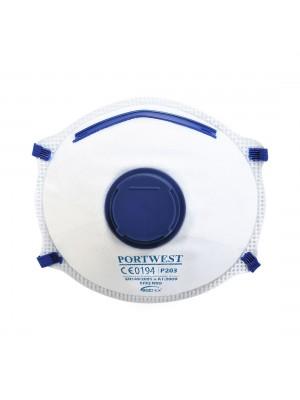FFP2 Dolomite respiratorius su vožtuvu PORTWEST P203
