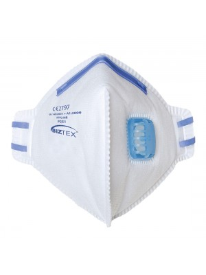 FFP2 sulankstomas respiratorius su vožtuvu PORTWEST P251
