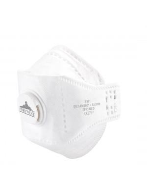 EAGLE FFP3 Dolomite sulankstomas respiratorius su vožtuvu PORTWEST P391