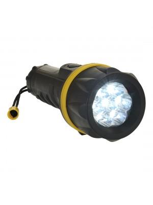 7 LED guminis žibintuvėlis PORTWEST PA60