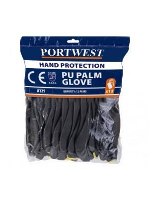 Poliuretanu aplietos pirštinės (12 pakuotėje) PORTWEST A129