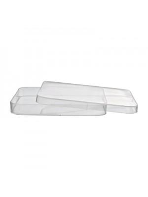 Plastikinės petri lėkštelės, 120 x 120 mm