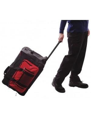 Kelioninis krepšys su ratukais ir daug kišenių PORTWEST B907