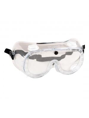 Netiesioginio ventiliavimo apsauginiai akiniai PORTWEST PW21