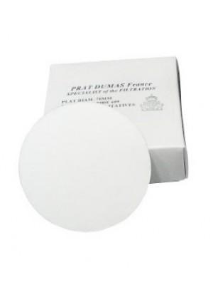 Kiekybinis filtrinis popierius, vidutinės filtracijos, bepelenis