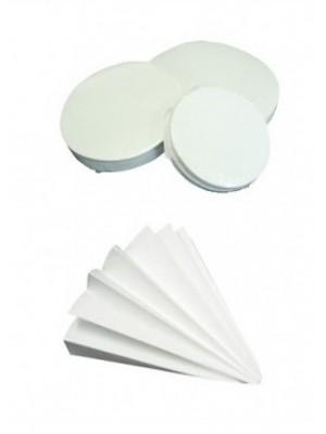 Kiekybinis filtrinis popierius, lėtos filtracijos, mažo peleningumo