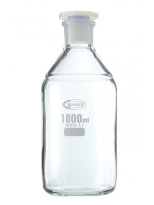Reagentų butelis, su šlifu