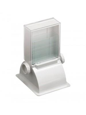 Objektinių stiklelių dozatorius
