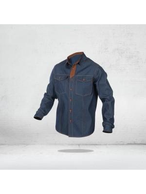 SARA TEXAS (10-441) -  Džinsiniai darbo marškiniai