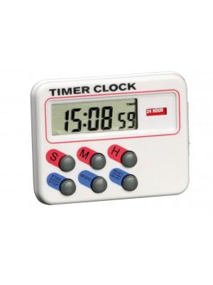 Atgalinės atskaitos laikmatis su laikrodžiu