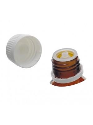 Plastikinis kamštelis, su lašintuvu, PP28