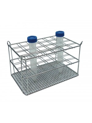 Centrifūginių mėgintuvėlių stovas, su vienguba viela