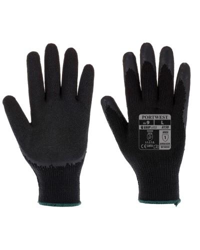 Klasikinės aplietos Grip pirštinės (lateksas) PORTWEST A150