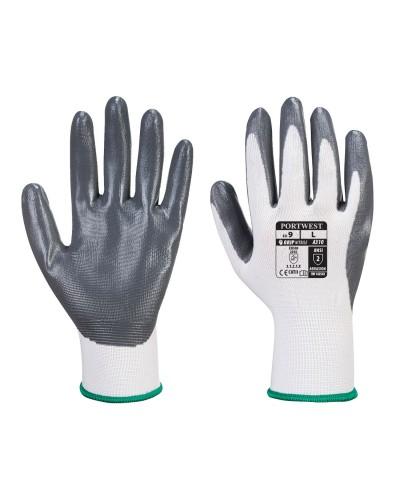 Flexo Grip nitrilu aplietos pirštinės (maišelyje) PORTWEST A319