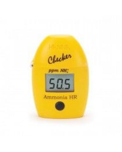 Kolorimetras amoniako kiekiui nustatyti HI733 Ammonia High Range Checker® HC