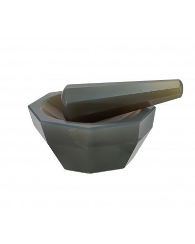 Agata grūstuvė su piestele (Premium Line)