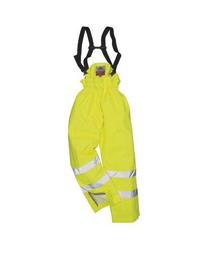Bizflame Rain be pamušalo - gero matomumo antistatinės FR kelnės PORTWEST S780
