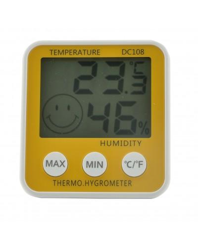 Skaitmeninis vidaus termo - higrometras, DC108