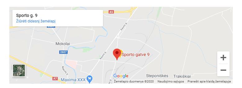 ignara adresas
